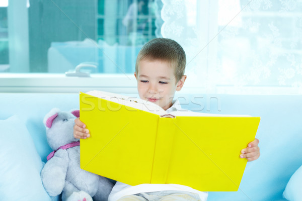 Little reader Stock photo © pressmaster