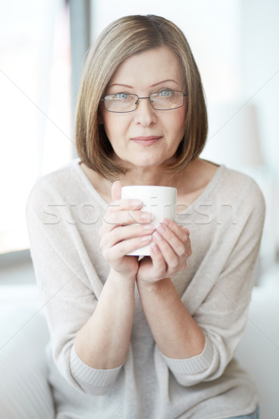 Woman with cup Stock photo © pressmaster