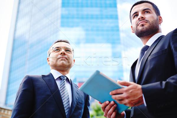 Businessmen in the city Stock photo © pressmaster