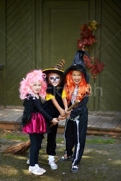 Halloween team Stock photo © pressmaster