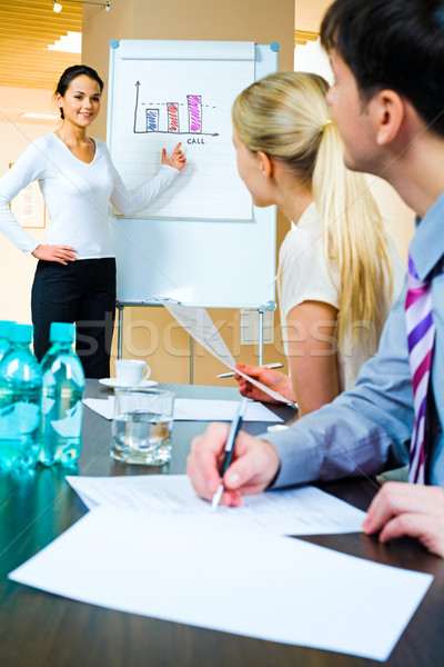 Stock photo: Working seminar