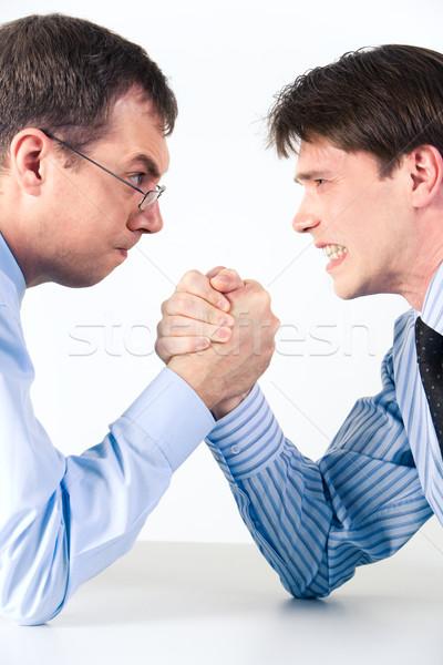 Arm wrestling Stock photo © pressmaster