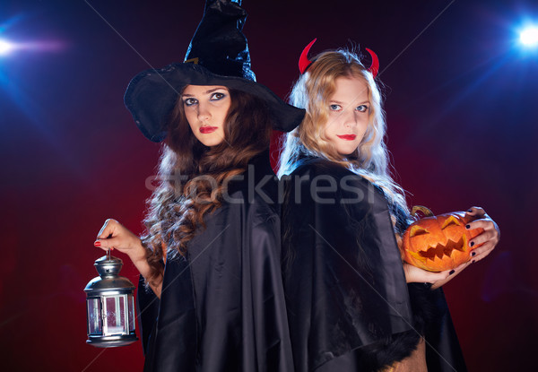 Witches in the dark Stock photo © pressmaster
