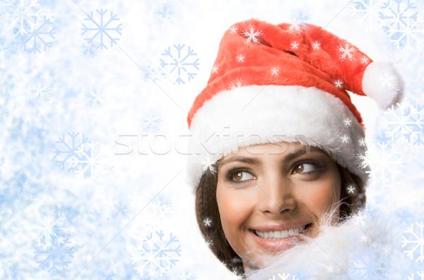 Woman in snow Stock photo © pressmaster