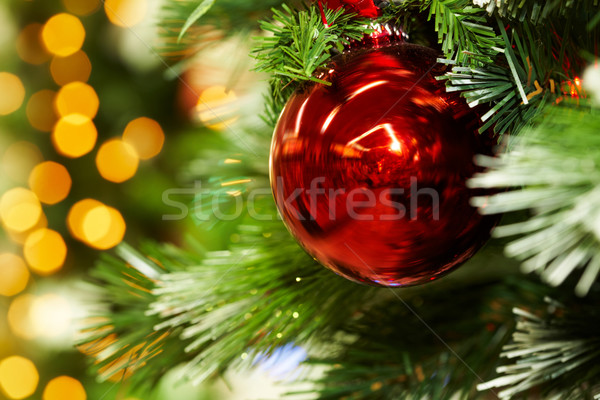 Palla ramo macro immagine rosso giocattolo Foto d'archivio © pressmaster