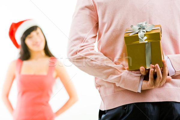 Christmas secret Stock photo © pressmaster