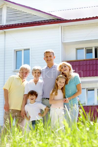 Joyful family Stock photo © pressmaster
