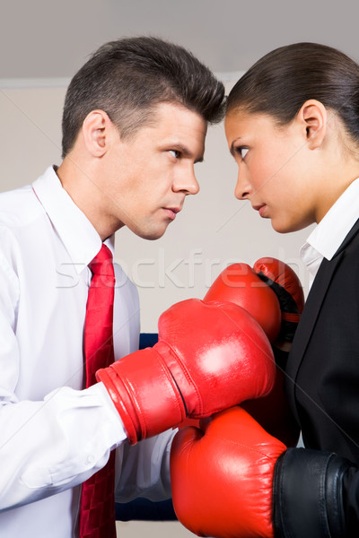 Struggling partners Stock photo © pressmaster