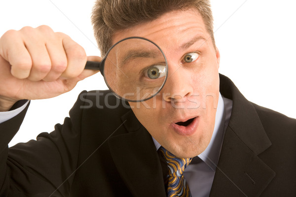 Stock photo: Looking-for