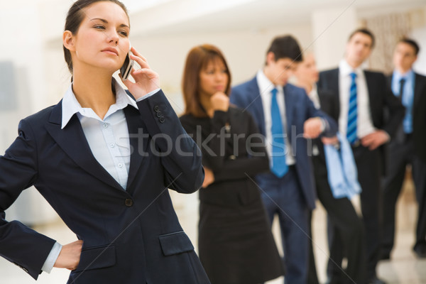 Business call Stock photo © pressmaster