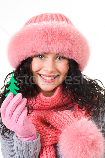 Attractive girl Stock photo © pressmaster