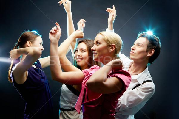 Dancing people Stock photo © pressmaster