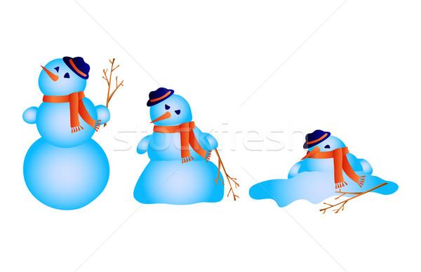snowman melts  Stock photo © pressmaster