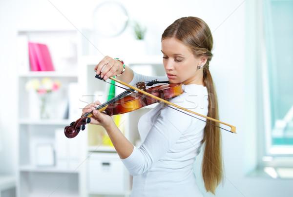 Play the violin Stock photo © pressmaster