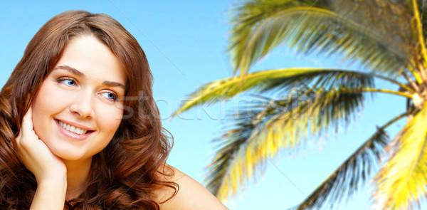 Tropic beauty Stock photo © pressmaster