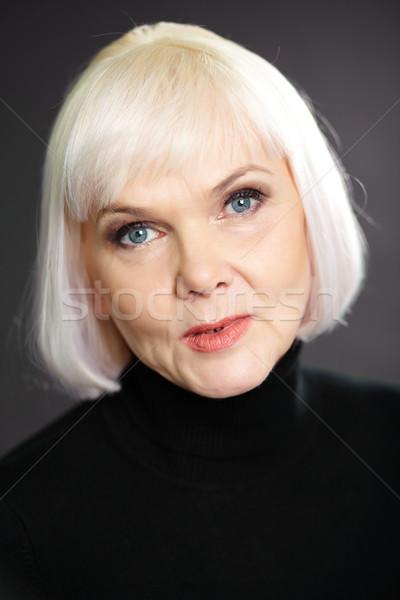 Woman in black Stock photo © pressmaster