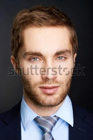 Face of businessman Stock photo © pressmaster