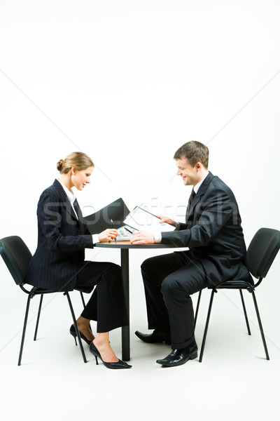 Two businesspeople Stock photo © pressmaster