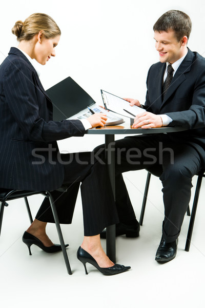 Stock photo: Woman and man