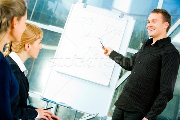 Stock photo: Business teaching