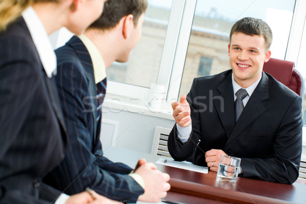 Business offer Stock photo © pressmaster