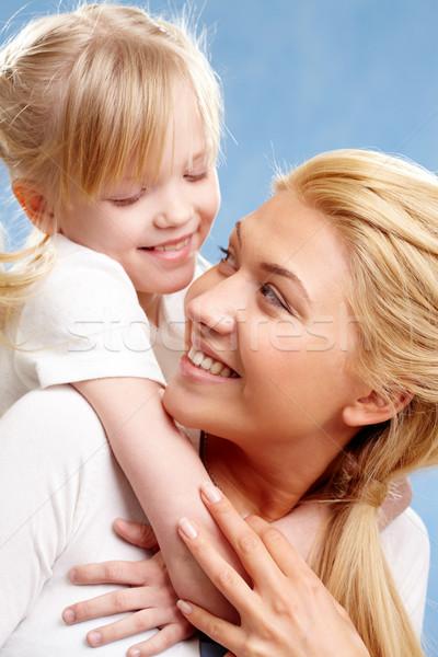 ストックフォト: 肖像 · 娘 · 母親 · 見える