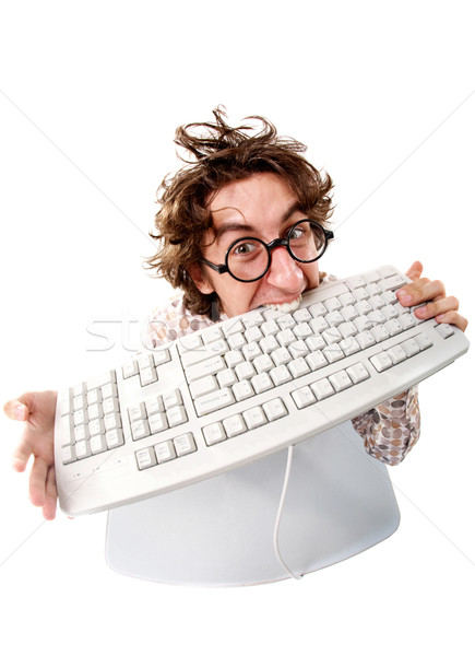 Crazy executive Stock photo © pressmaster