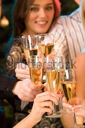 Cheers Stock photo © pressmaster