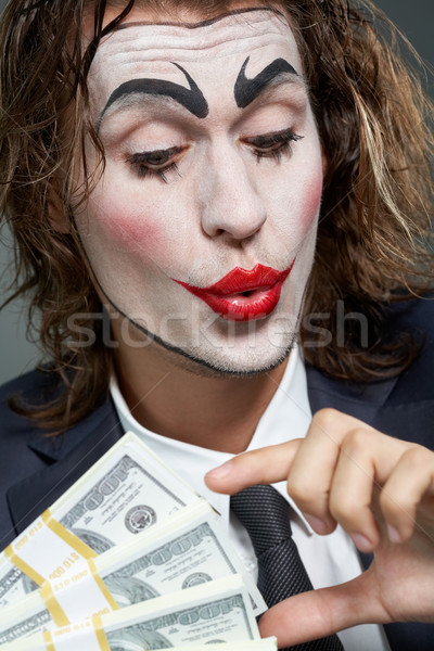 Actor of businessman Stock photo © pressmaster