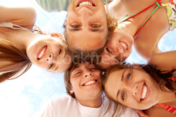 Happy teens Stock photo © pressmaster
