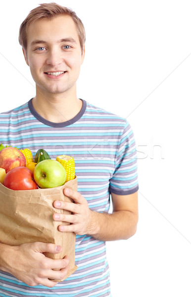 Healthy food eater Stock photo © pressmaster