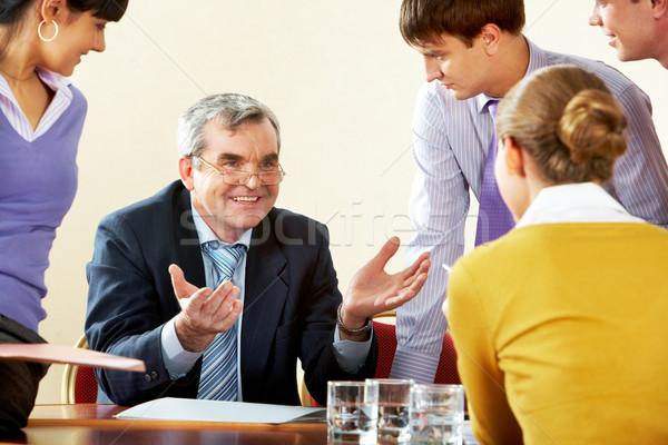 During conversation Stock photo © pressmaster