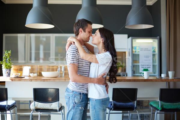 Couple in the bar Stock photo © pressmaster
