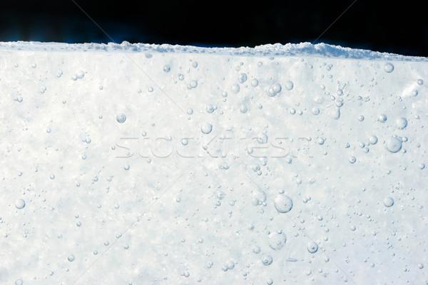 Melting snow Stock photo © pressmaster