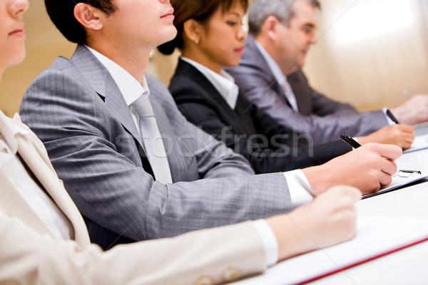 Conferência pessoas de negócios notas negócio Foto stock © pressmaster