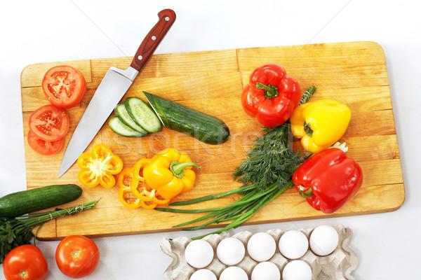 Natural ingredients Stock photo © pressmaster