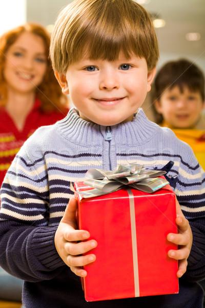 Happy boy Stock photo © pressmaster