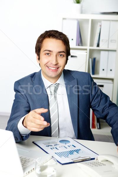 Successful boss Stock photo © pressmaster