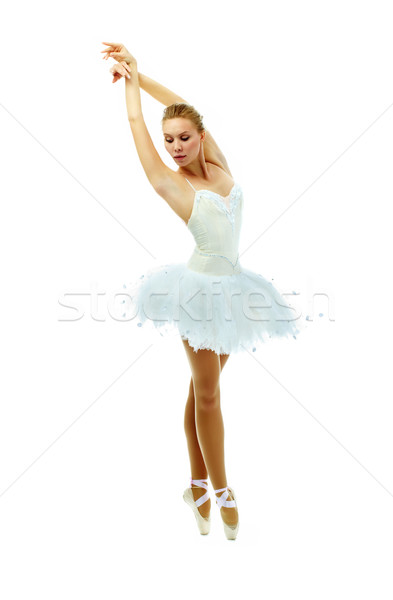 Tiptoe dance Stock photo © pressmaster