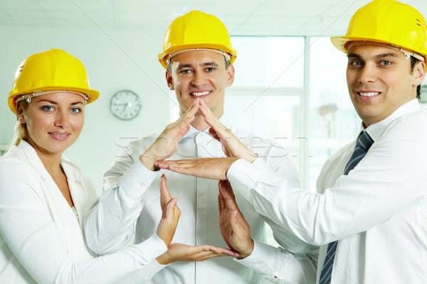 House constructors Stock photo © pressmaster