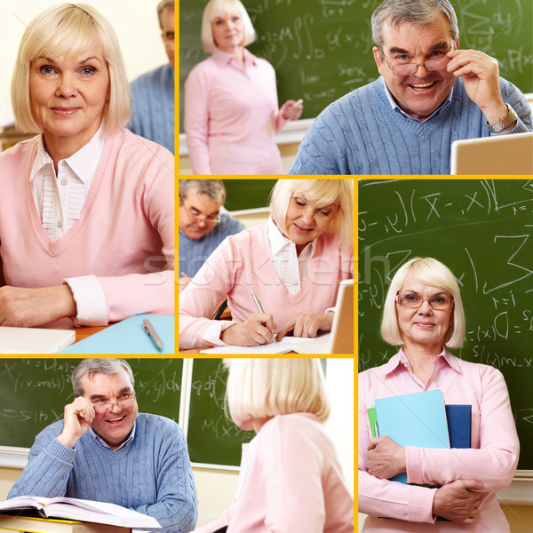 Mature students  Stock photo © pressmaster