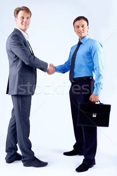 Men handshaking Stock photo © pressmaster