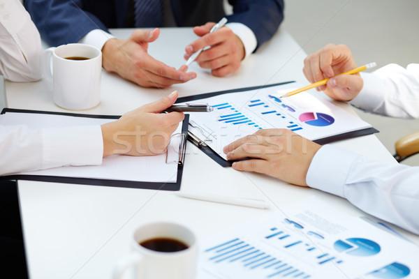 Financial reports Stock photo © pressmaster