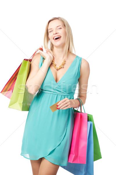 Lucky shopping Stock photo © pressmaster