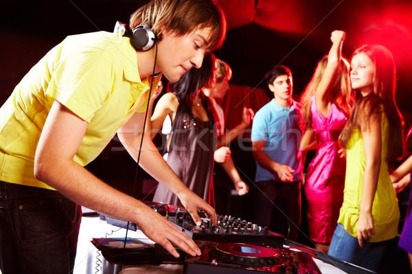 Сток-фото: дискотеку · Smart · Deejay · вертушки · танцы · подростков
