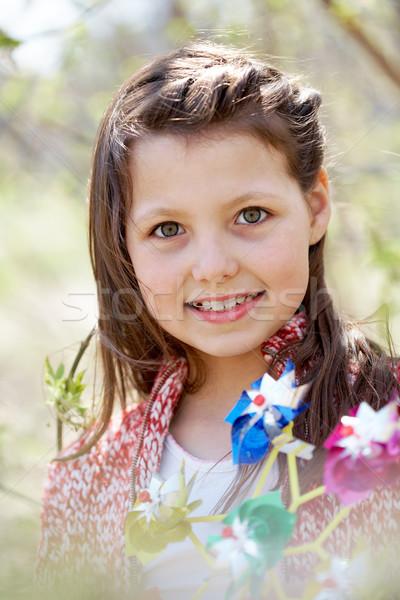 Pretty kid Stock photo © pressmaster