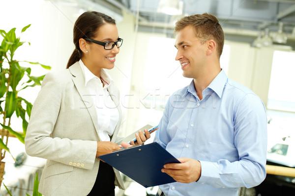 Photo stock: Affaires · jeunes · gens · d'affaires · association