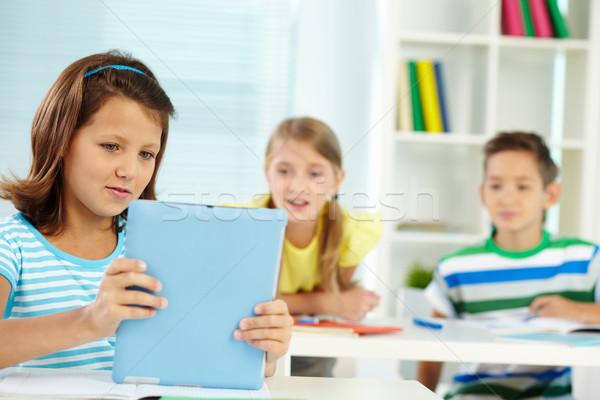 Youthful learner Stock photo © pressmaster
