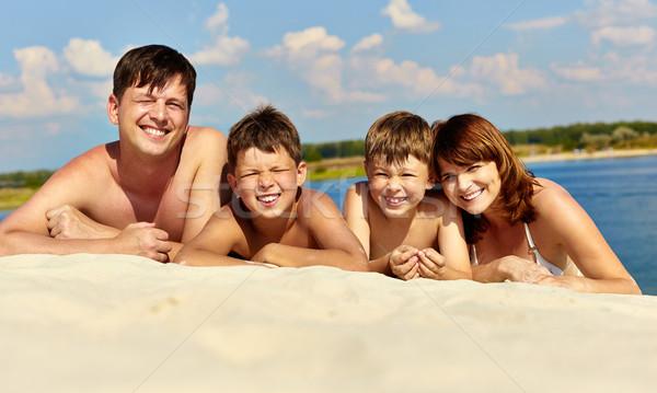 Rest on beach Stock photo © pressmaster