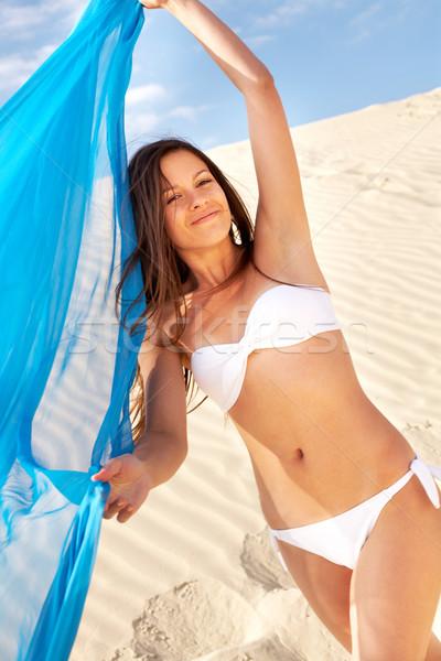 Woman on the beach Stock photo © pressmaster